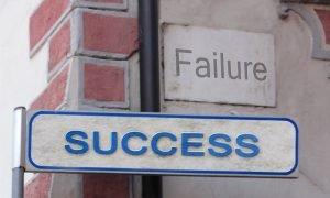 Erfolg und Versagen liegen oft nah beieinander